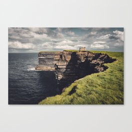 Irish Sea Cliffs Canvas Print