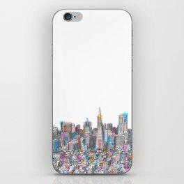 San Francisco Coit view iPhone Skin