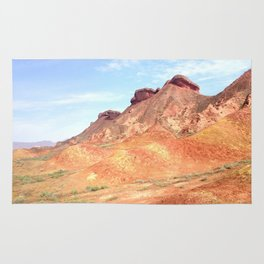 mineral mountain photography Rug