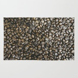 Coffee beans in Colombia Rug