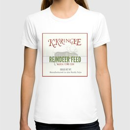 Christmas Reindeer Feed sack T-shirt