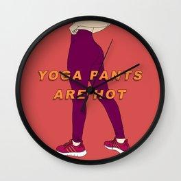 Yoga Pants Wall Clock