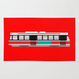 Toronto TTC Streetcar Rug