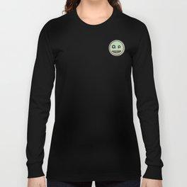 Snot-Face, Green Long Sleeve T-shirt
