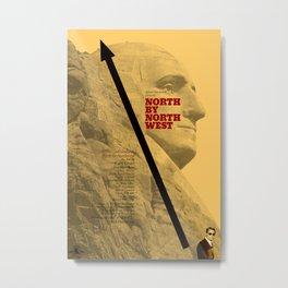 Hitchcock: North by Northwest Metal Print