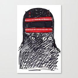 King Otter aka Dobhar-chu Canvas Print