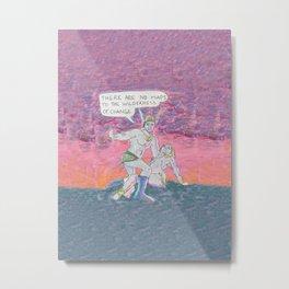 No Maps Metal Print