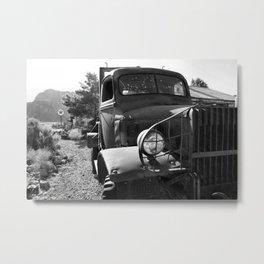 Tow Truck Metal Print