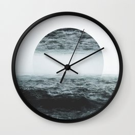 Staring at your ghost Wall Clock