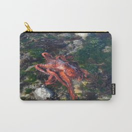ALASKA: tidepool treasures ~ octopus Carry-All Pouch