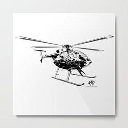 MD-500 Metal Print