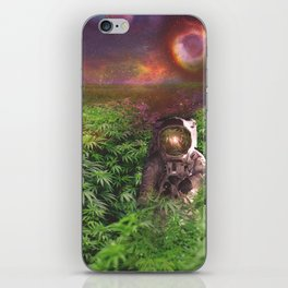 Planet Hemp iPhone Skin