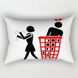 Recycled Rectangular Pillow