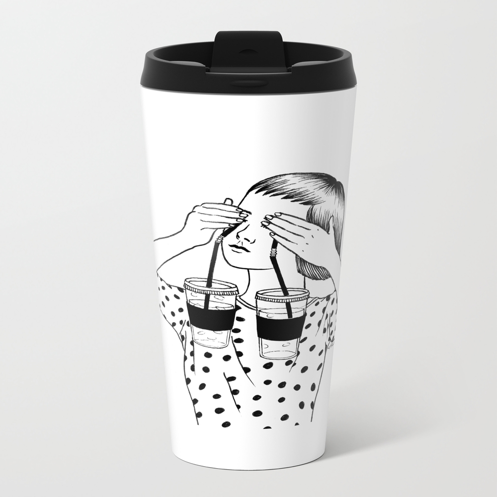 Two Cups Of Tears Travel Mug TRM3544239