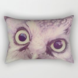 Dirty Look Owl Rectangular Pillow