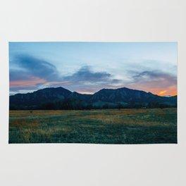 Boulder Sunset Rug