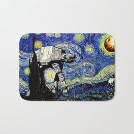 Starry Night versus the Empire Bath Mat