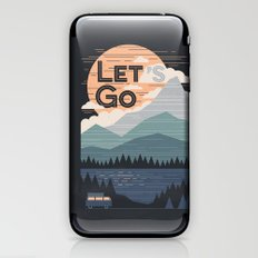 Let's Go iPhone & iPod Skin