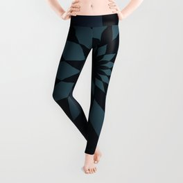 Wonderland Floor in Muted Rain Colors Leggings