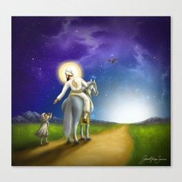 His Mercy Canvas Print