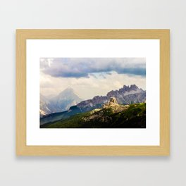 In the spotlight Framed Art Print
