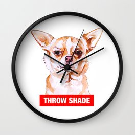 Throw Shade by BNVDO Wall Clock