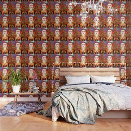 My other Frida Kahlo with butterflies Wallpaper