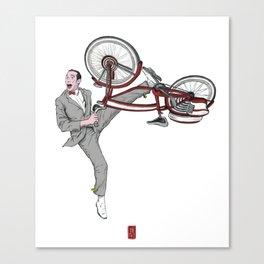 Pee Wee Herman #3 Canvas Print