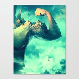Raw Ambition Canvas Print