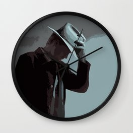 Raylan Givens 3 Wall Clock