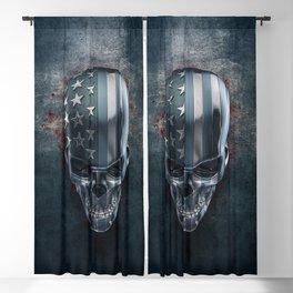 American Horror in Metal Blackout Curtain