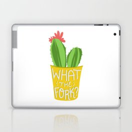 what the fork? cactus (The Good Place) Laptop & iPad Skin