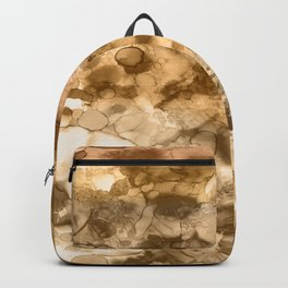 Woodland - Mixed media ink painting Backpack