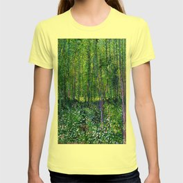 Vincent Van Gogh Trees & Underwood T-shirt