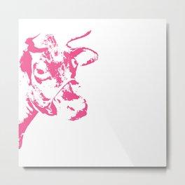 Follow the Pink Herd #700 Metal Print