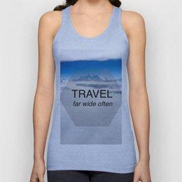 Himala-YEAH! (Travel far quote) Unisex Tank Top