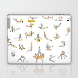 Jaunty Gymnasts Laptop & iPad Skin