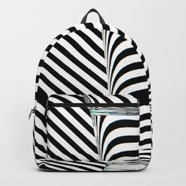 Striped Water Backpack