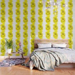 Smiley Glitch Wallpaper
