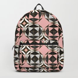 Geodesic Optic Roses Backpack