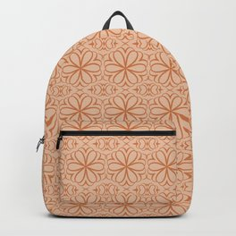 Victorian Pattern pink flowers Backpack
