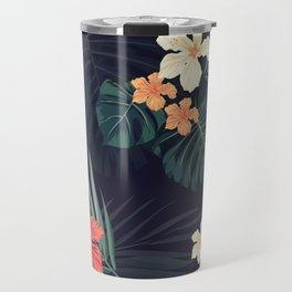 Dark tropical Travel Mug