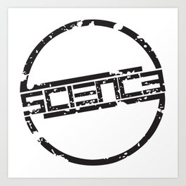 Circle Logo Art Print