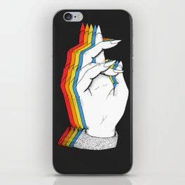 Spectrum of demonology iPhone Skin