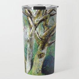 BY NATURE - Original Fine Art painting by HSIN LIN / HSIN LIN ART Travel Mug