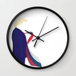 Russia Tie Wall Clock