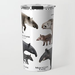 Tapirs of the World Travel Mug