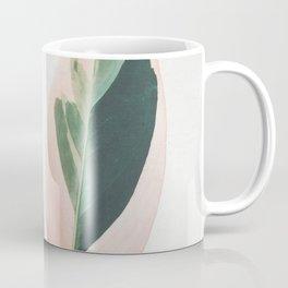 Pink Leaves I Coffee Mug