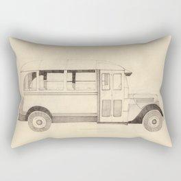 autobus Rectangular Pillow
