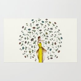 Paris Summer | The Flower Girl Rug